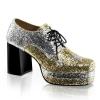 GLAMROCK-02 Silver/Gold Glitter